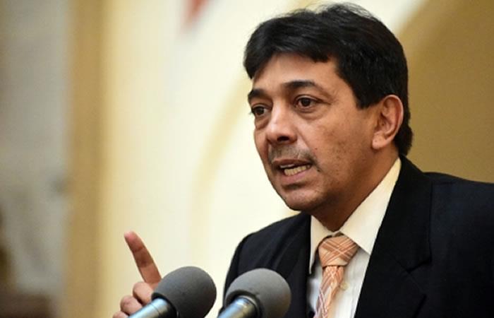 Ministro de Hidrocarburos, Víctor Hugo Zamora. Foto: ABI