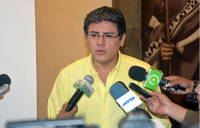Ministro de la Presidencia, Jerjes Justiniano. Foto: ABI