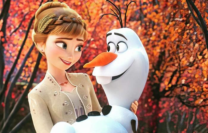 Estreno de 'Frozen 2'. Foto: Twitter.