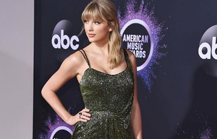 Taylor Swift fue la protagonista de los premios. Foto: Instagram @taylorswift