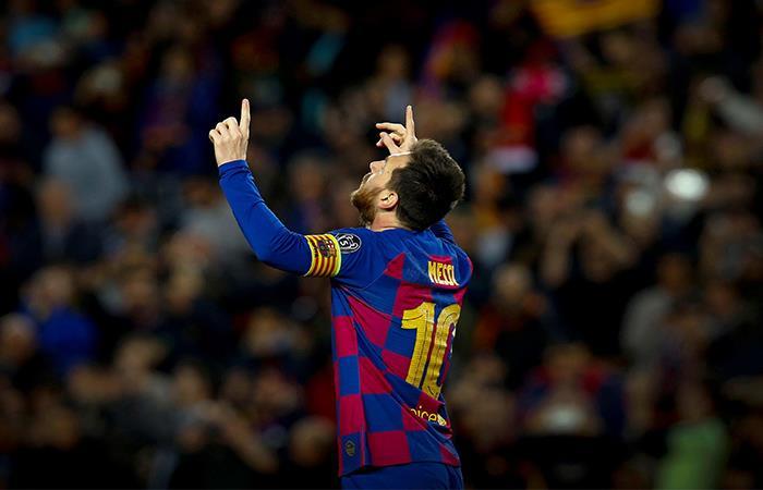 Un Messi imperial clasificó a Barcelona a los octavos de final de la Champions League