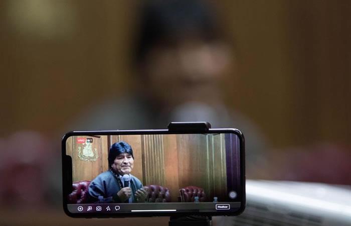 Expresidente de Bolivia, Evo Morales. Foto: EFE.