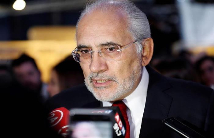 Expresidente de Bolivia, Carlos Mesa. Foto: EFE.