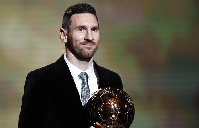 Lionel Messi es ganador del Balón de Oro 2019. Foto: EFE.