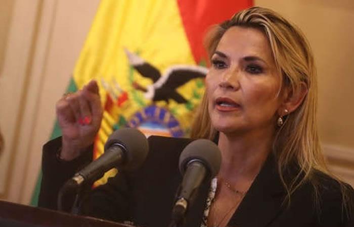 El Gobierno interino de Boliva es presidido por Jeanine Áñez. Foto: EFE.