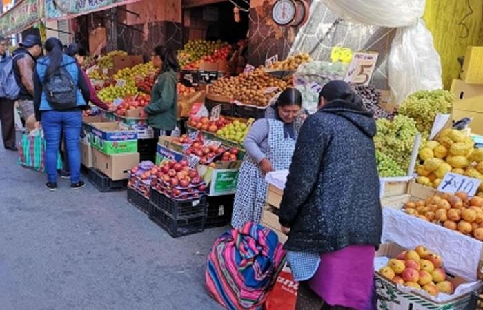 Noviembre deja una inflación de 1,11% y el acumulado a 11 meses sube a 3,06%, según INE. Foto: ABI.
