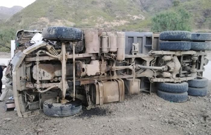 En Bolivia a diario se produce al menos un accidente de tránsito por hora. Foto: ABI.