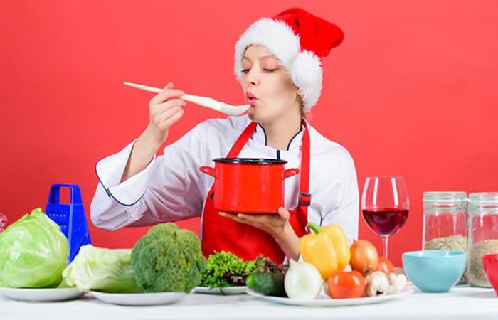 Preparaciones para Navidad y Año Nuevo. Foto: Shutterstock