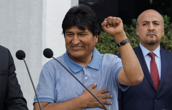 Evo Morales se encuentra en Cuba por cuestiones de salud. Foto: Twitter