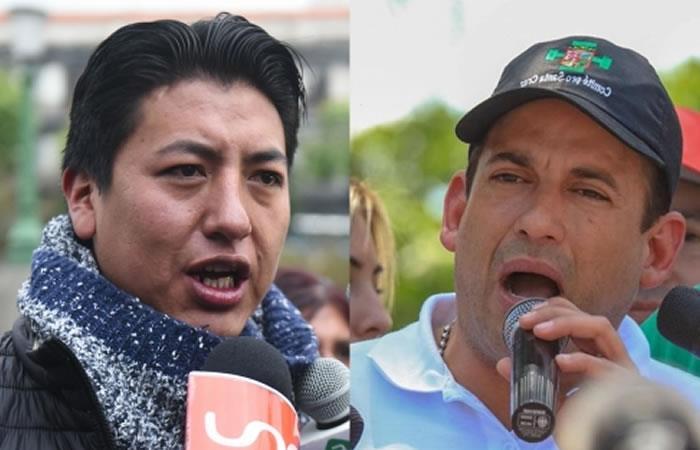 Pumari y Camacho 'envueltos' en una investigación. Foto: ABI.