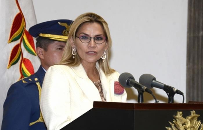 Jeanine Áñez realizó un nuevo cambio al turismo boliviano. Foto: ABI.