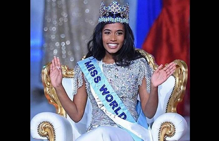 Miss Jamaica se coronó este sábado. Foto: Instagram