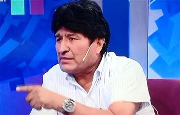 """Morales dio declaraciones desde Argentina, y no le teme """"a la detención"""""""