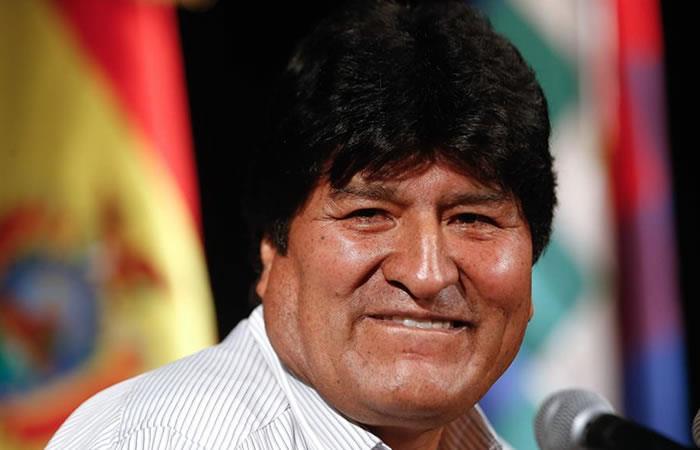 Expresidente de Bolivia, Evo Morales. Foto: EFE