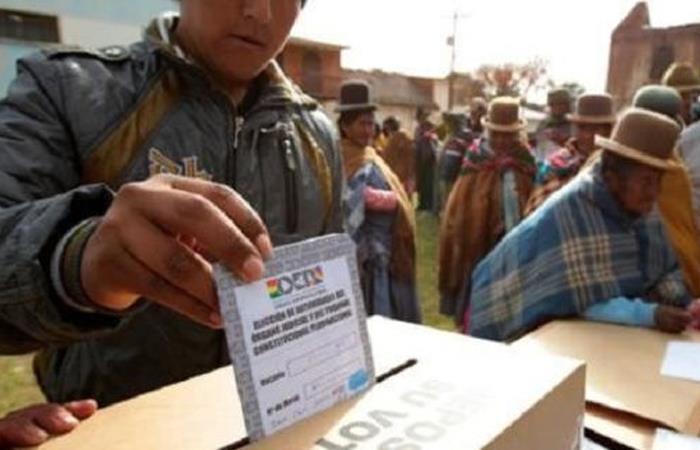 Elecciones presidenciales Bolivia. Foto: ABI