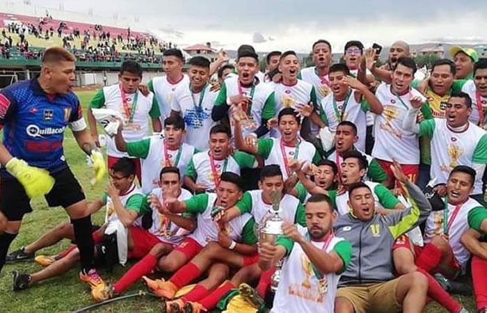 Deportistas del club Municipal Vinto. Foto: Twitter