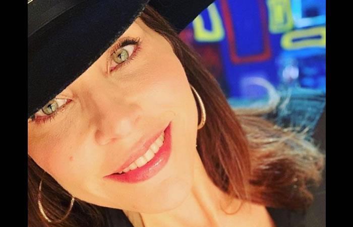 Lorena Meritano también es presentadora de TV. Foto: Instagram
