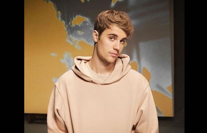 Cantante canadiense Justin Bieber. Foto: Instagram