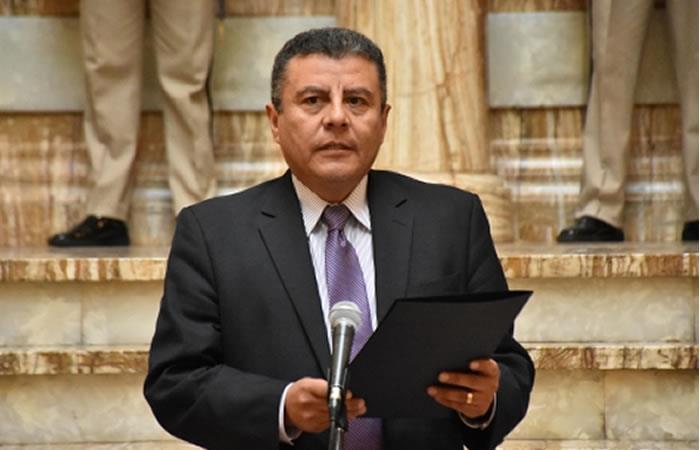 Secretario Privado Presidencial, Erick Foronda. Foto: ABI