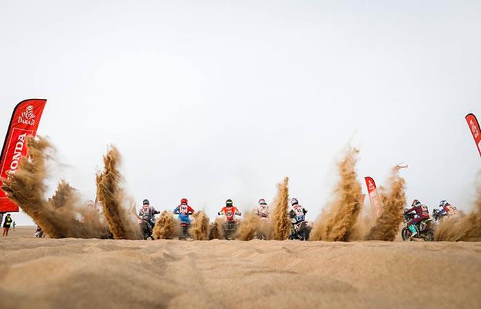 Competencias de Dakar 2020. Foto: Facebook Dakar Rally.