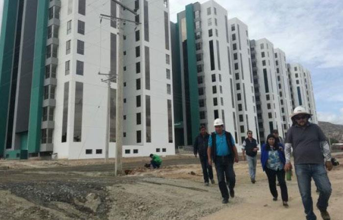 Habría casos en los que faltan los títulos de propiedad. Foto: Twitter @Bolivia_bol