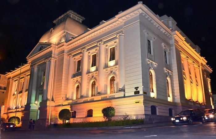 Tribunal Supremo de Justicia de Bolivia. Foto: ABI
