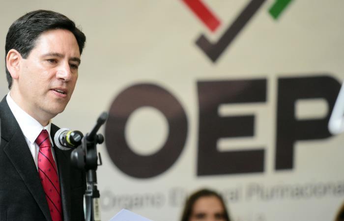 Salvador Romero, presidente del Tribunal Supremo Electoral. Foto: ABI