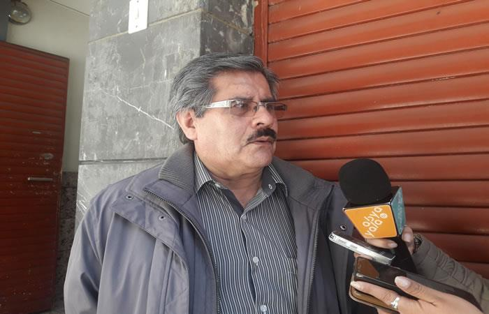Representante del Consejo Nacional para la Democracia (Conape), Waldo Albarracín. Foto: ABI.
