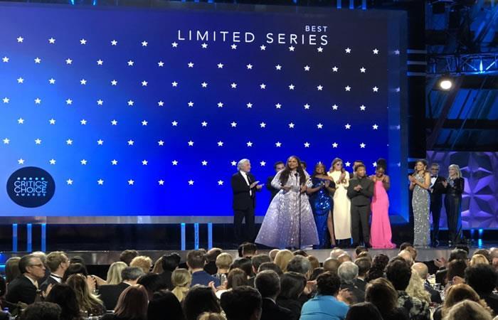 Ceremonia de los Critics' Choice Awards. Foto. Twitter oficial @CriticsChoice