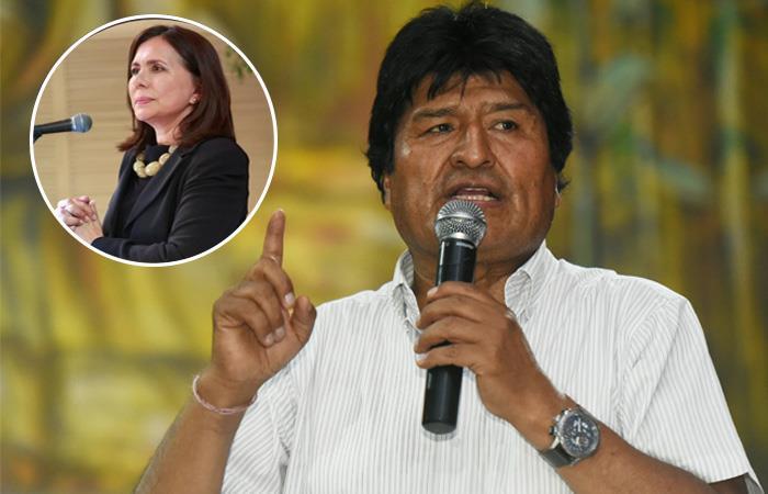 Evo Morales causó indignación en el gobierno de Bolivia. Foto: ABI
