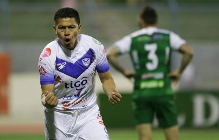 Carlos Saucedo fue el máximo goleador de Sudamérica en 2019. Foto: Twitter @CDSJoficial