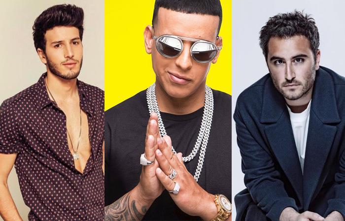 Yatra, Daddy Yankee y Reik están nominados a los premios lo Nuestro. Foto: Twitter