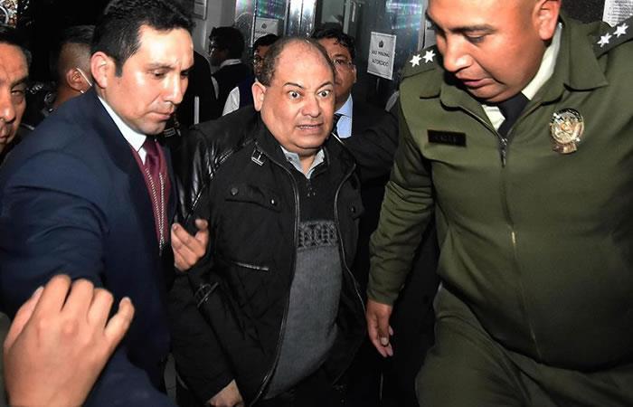 Exministro de Evo Morales, Carlos Romero. Foto: EFE