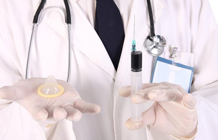 Método anticonceptivo para hombres. Foto: Shutterstock