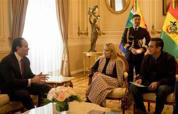 Donald Trump felicitó a la presidenta Añez por su gestión en Bolivia