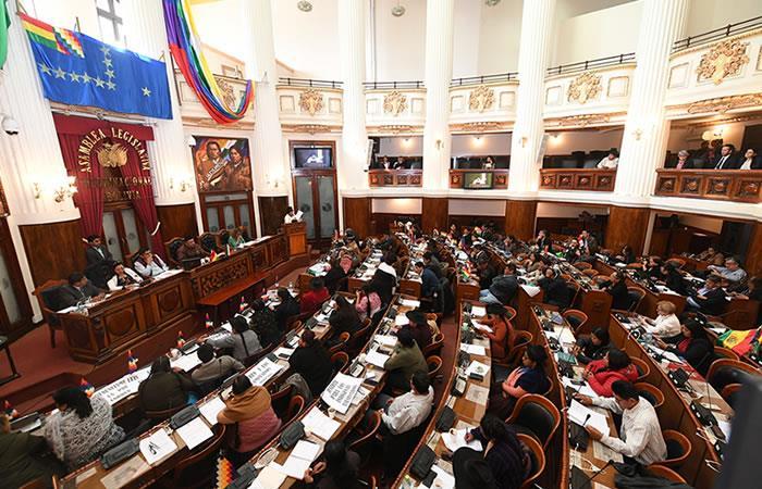 El próximo 3 de mayo se elegirá al presidente, vicepresidente, senadores, diputados y parlamentarios supraestatales. Foto: ABI.