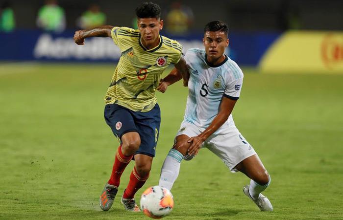 Argentina derrotó 2-1 a Colombia. Foto: EFE
