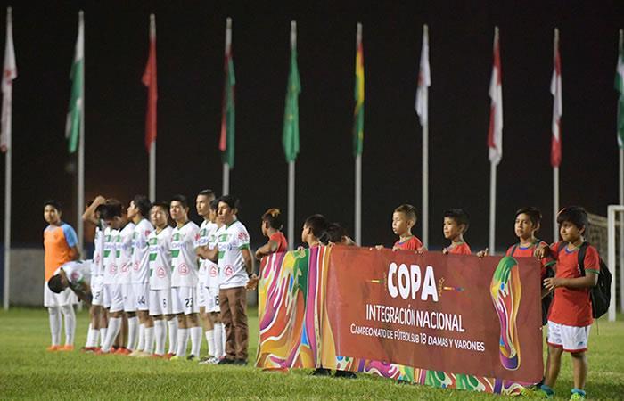 Copa Integración Nacional. Foto: ABI
