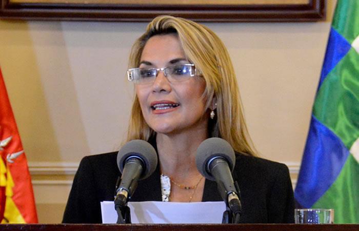 Presidenta Interina Jeanine Áñez emitirá un mensaje presidencial el 22 de enero. Foto: ABI