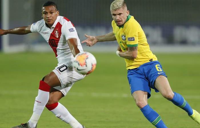 Brasil derrotó a Perú en la segunda fecha del Grupo B en Preolímpico 2020 - EFE