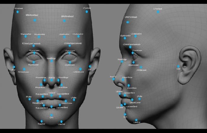 Aplicación de reconocimiento facial. Foto: Twitter