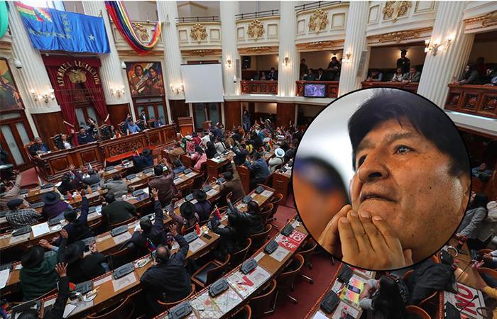 Evo Morales evitaría juicio por terrorismo. Foto: EFE