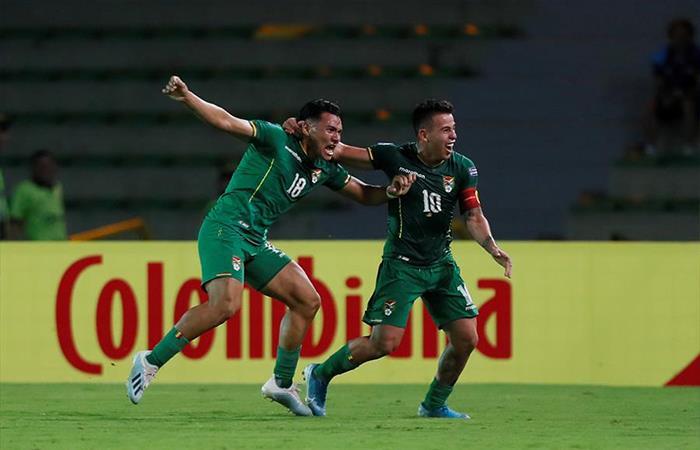 Bolivia vence 3 a 2 a Uruguay. Foto: EFE