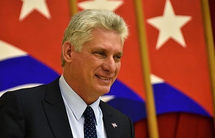 Presidente de Cuba, Miguel Díaz - Canel. Foto: Twitter
