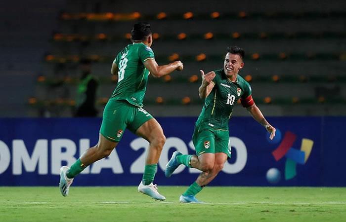 Bolivia en el partido anterior contra Uruguay. Foto: EFE.