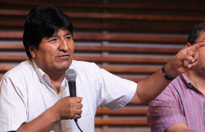 Evo Morales, expresidente de Bolivia. Foto: EFE