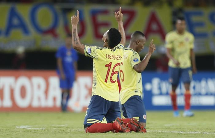 La Selección Colombia espera lograr un cupo a Tokio 2020. Foto: EFE