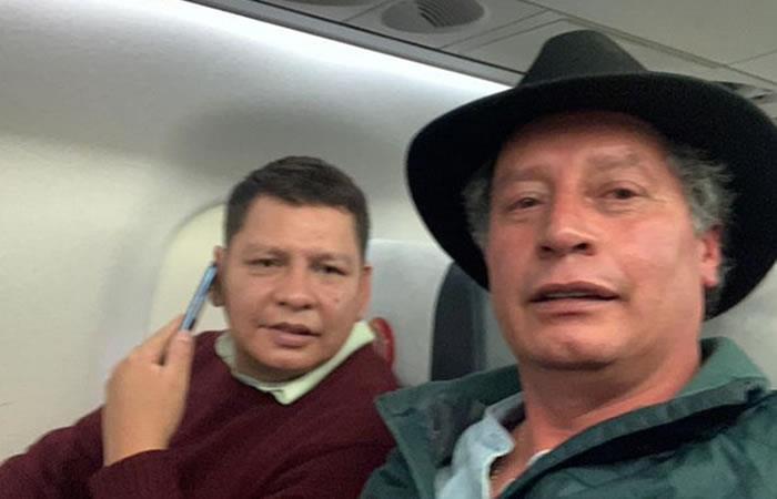 Pedro Damián Dorado y César Navarro. Foto: ABI