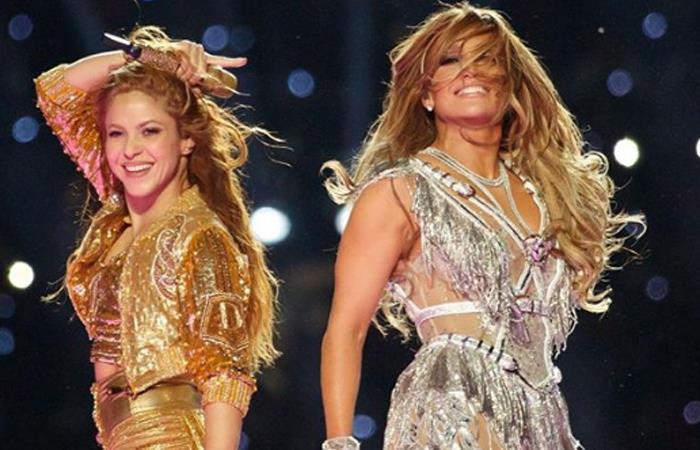 Doce minutos duró la presentación. Foto: Instagram @Shakira.