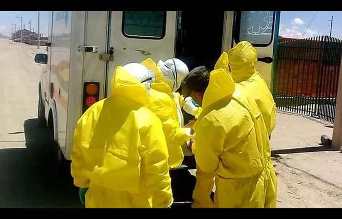 Posibles casos de coronavirus en Bolivia. Foto: Twitter @BoliviaMundNews